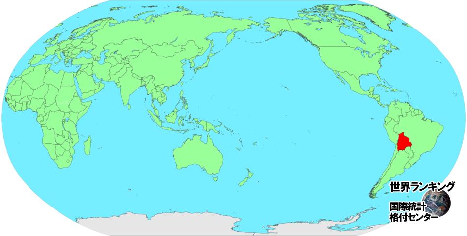 ボリビア 地図